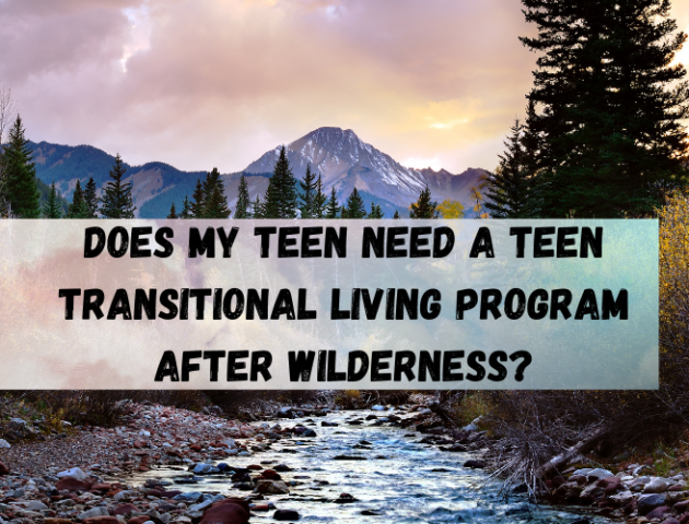Does My Teen Need a Teen Transitional Living Program After Wilderness