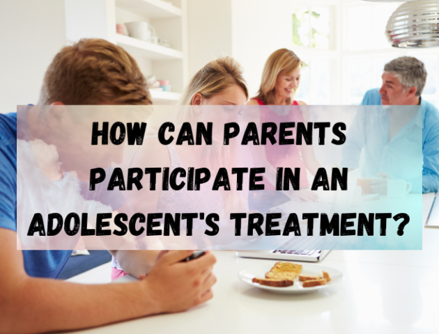 How Can Parents Participate in An Adolescent's Treatment los angeles