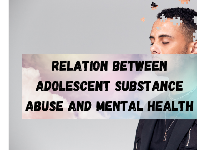 Relation Between Adolescent Substance Abuse and Mental Health los angeles ca